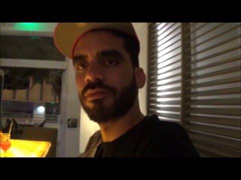 Danilo Maldonado Machado'' EL SEXTO'' Anunciando su Exposicion  Pork Miami Beach