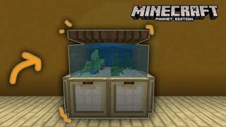 How to make an Aquarium(Realistic)-Minecraft PE (1.6-1.7)