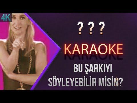 Bu Şarkıyı Söyleyebilir Misin ? Bandıra Bandıra Karaoke 4K