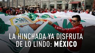 Así se prepararon los aficionados de México para el Mundial de Rusia 2018
