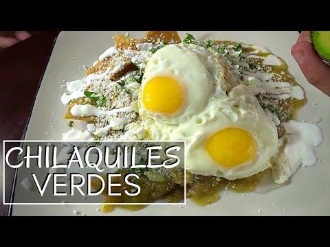 Chilaquiles Verdes con Huevo | La Capital