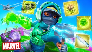 CRAZIEST *NEW* SEASON OF FORTNITE! (MARVEL)