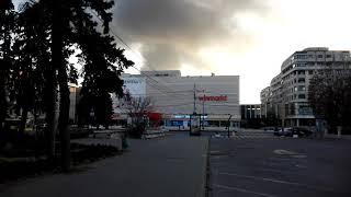Incendiu in Ploiesti, Prahova, in spatele centrului comercial Winmark Omnia