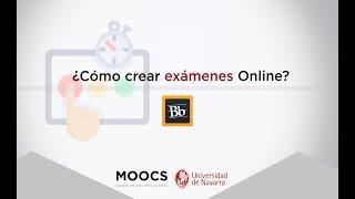 Cómo crear exámenes online - Herramienta Blackboard