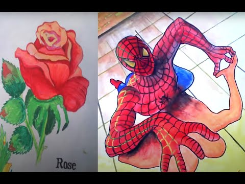 Drawing Paint Colouring Kids My Childhood Sketches