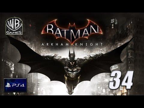 BATMAN ARKHAM KNIGHT | LOS TANQUES COBRA Y EL AGUACERO | PS4 Capitulo 34 español
