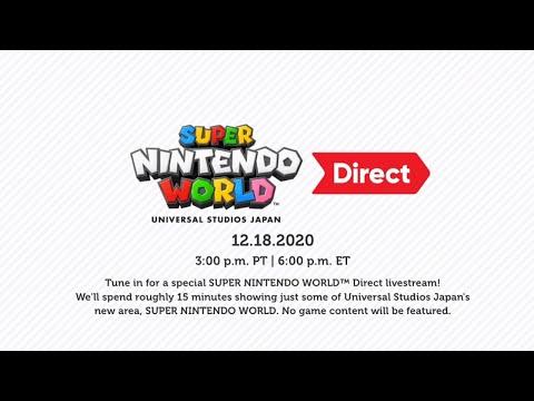 Super Nintendo World Direct - Reacción