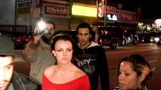 Britney Spears Breaks Her Camera On Paparazzo's Car And Gets Consoled By Adnan Ghalib! [2007]