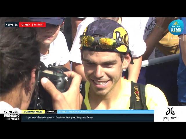 UTMB® 2019 Replay Finisher 1 Hombre (ES) - Pau Capell