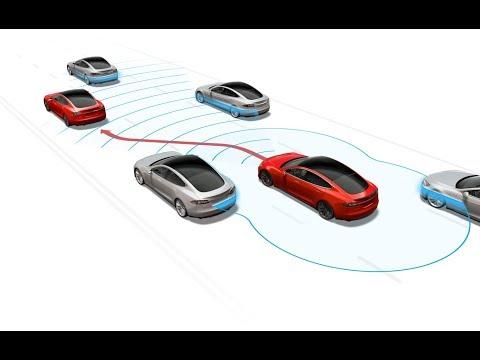 Tesla Autopilot - fun but safe driving