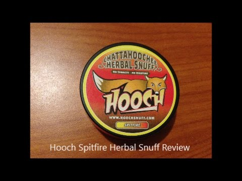 hooch spitfire herbal snuff review - youtube