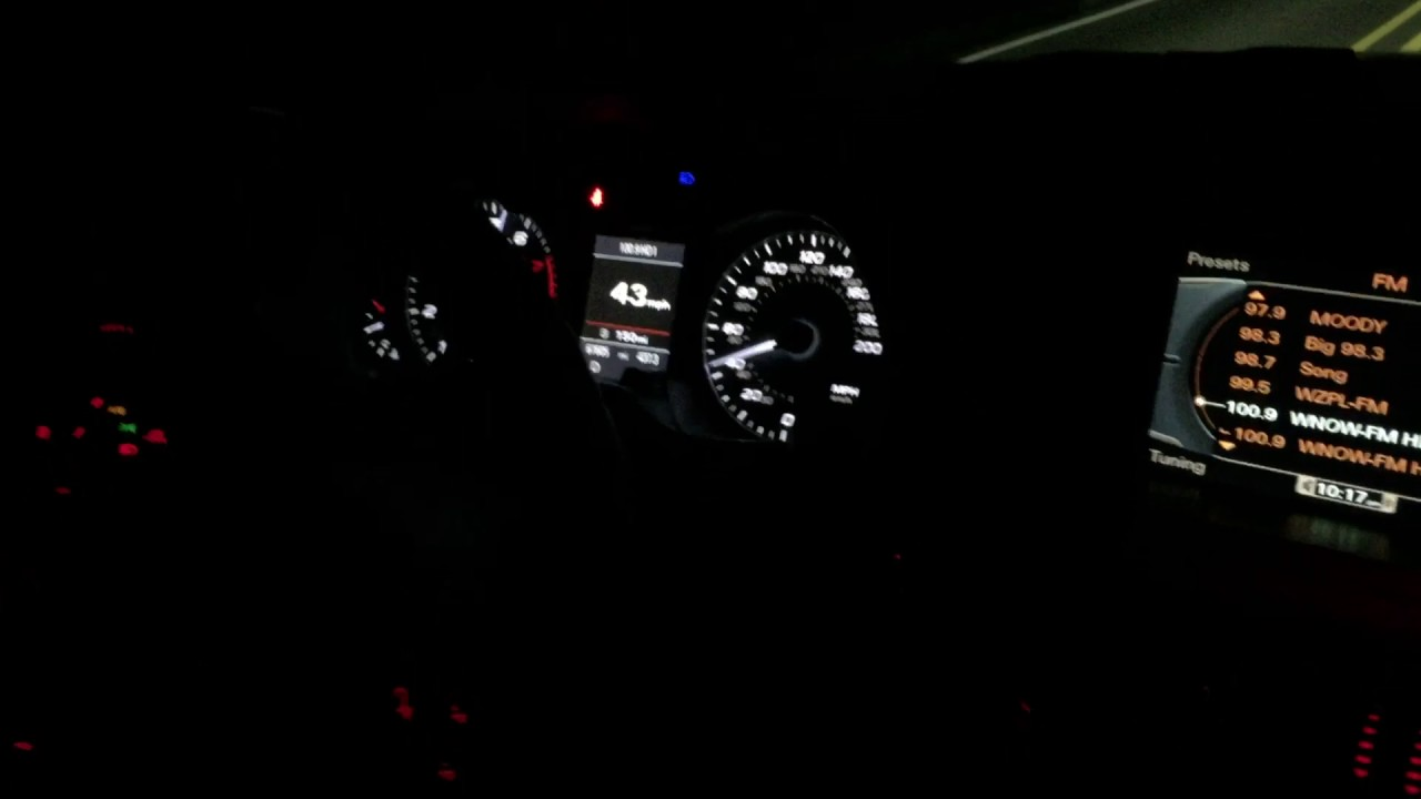 2011 Audi S4 333hp Supercharged 3 0 V6 0 To 60 Youtube