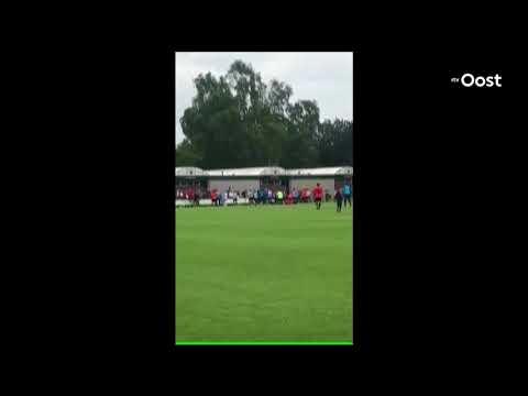Politie rukt met helikopter uit na vechtpartij bij amateurwedstrijd ZVV '56 - VV IJsselstreek