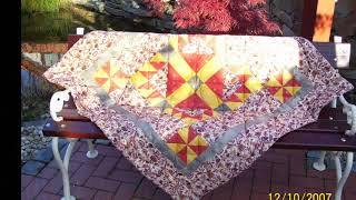 BEAR PAW QUILT PATTERN