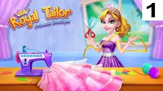 **Day - 1** Royal Tailor Shop 3 Part 1- Princess Clothing Shop Android Gameplay screenshot 2