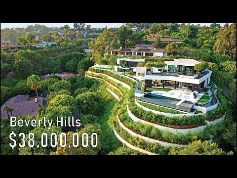 Inside a $38 Million Beverly Hills Mansion! – California