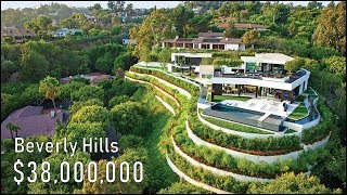 Inside a $38 Million Beverly Hills Mansion! - California