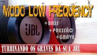 """Ativando o modo """"LOW FREQUENCY"""" nas caixas JBL - GRAVES TURBINADOS"""