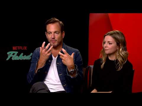 Backstage with Will Arnett & Ruth Kearney for Netflix Original FLAKED