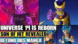 Beyond Dragon Ball Super: Universe 14 Is Reborn! NEW God Of Destruction Is Frieza! Goku Vs Vegeta