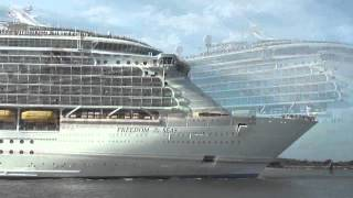 Royal Caribbean Freedom  Of The Seas Leaving Port Canaveral - Parking, Airport Shuttle & Hotels