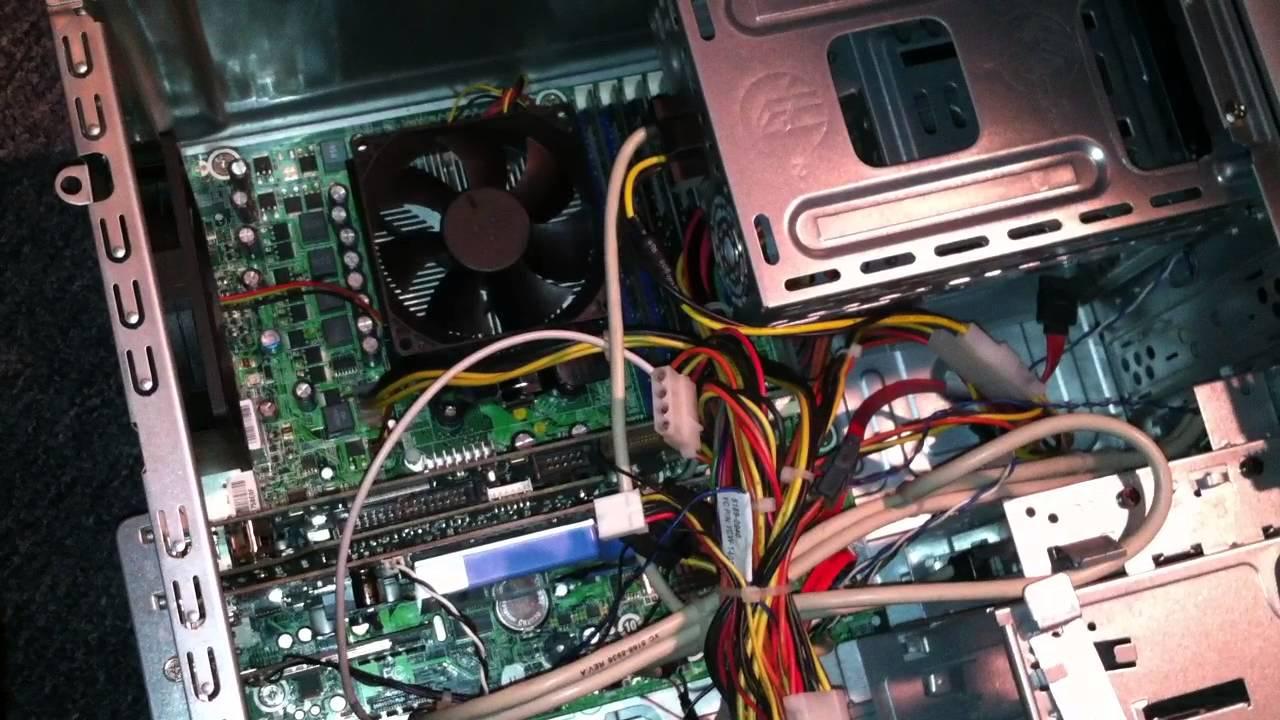 Hewlett Packard HP Desktop Power issue and repair
