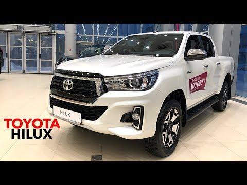 Топовый Toyota Hilux обновлённый 2019г