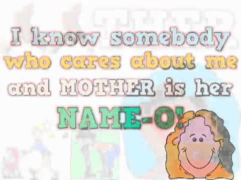 M O T H E R Mother's Day song to the tune of BINGO   YouTube