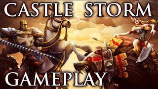 Castle Storm - Gameplay #1 [HD German]