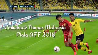 Malaysia Vs Laos AFF 2018 (Epic Comeback)