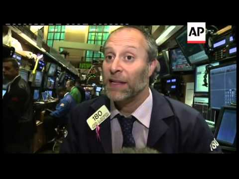 American stock market falls heavily as economic woes drive sell off