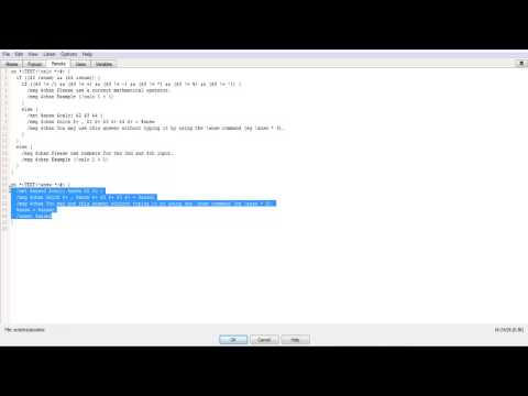 IRC Scripting Tutorial EP 7: Modiying The Caculator
