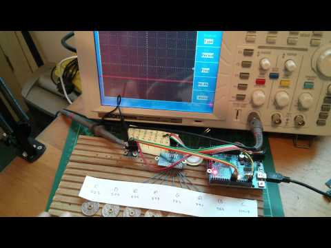 Project: Penny Organ - Playing With The AD9833