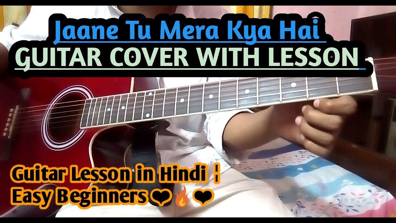Contemporary Jaane Tu Ya Jaane Na Guitar Chords Pictures Beginner