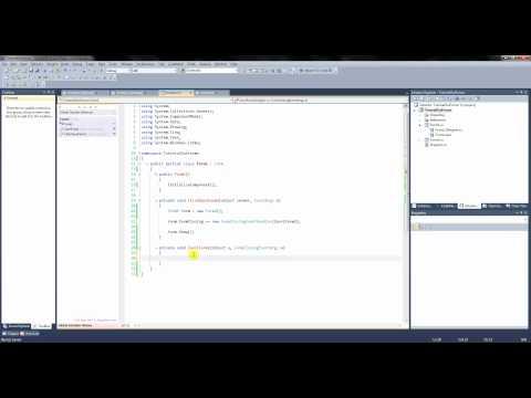 C# Tutorial CZ 2. - Přenos dat mezi dvěma formy