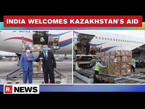 COVID-19: Kazakhstan Sends 5.6 Million Masks, Respirators To India Amid Surge In Cases