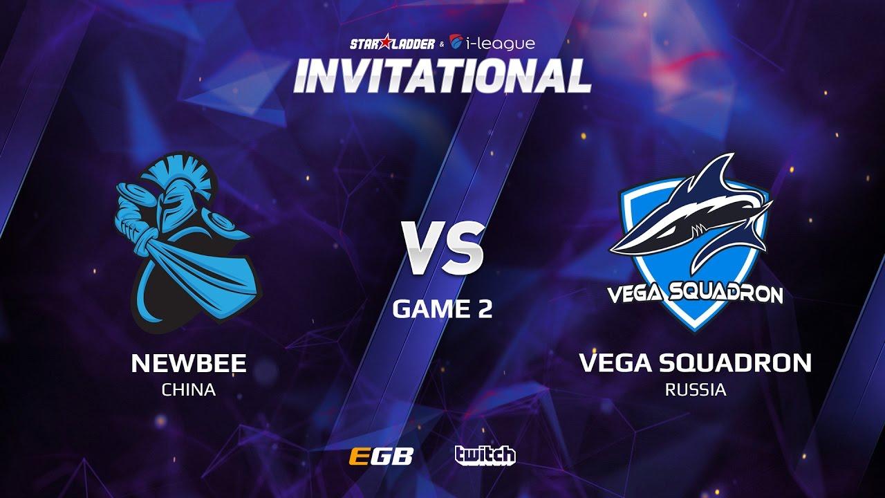 Newbee vs Vega Squadron, Game 2, SL i-League Invitational S2 LAN-Final, Group B