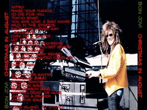 Bon Jovi - Live Nassau, Uniondale 1987 (FULL)