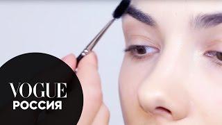 Как сделать правильные брови: видеоинструкция