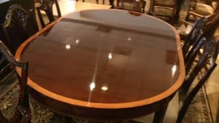 Stickley Mahogany Table - Monroe Place Dining