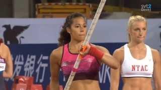 Angelica Bengtsson - Pole Vault Shanghai  Diamond League May 18th 2013