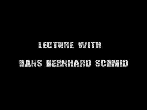 Lecture with Hans Bernhard Schmid: Joint attentions