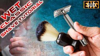 13. Техника бритья т образным станком для новичков. #homelike, #бритьё