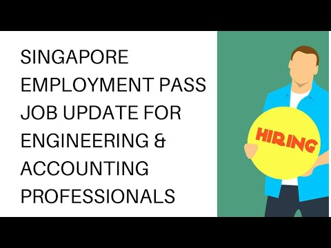 #SINGAPORE EMPLOYMENT PASS RECRUITMENT  | #ENGINEERING & ACCOUNTS JOBS |