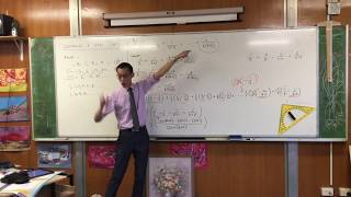 Evaluating a Series of Related Fractions (2 of 2: Completing the solution)