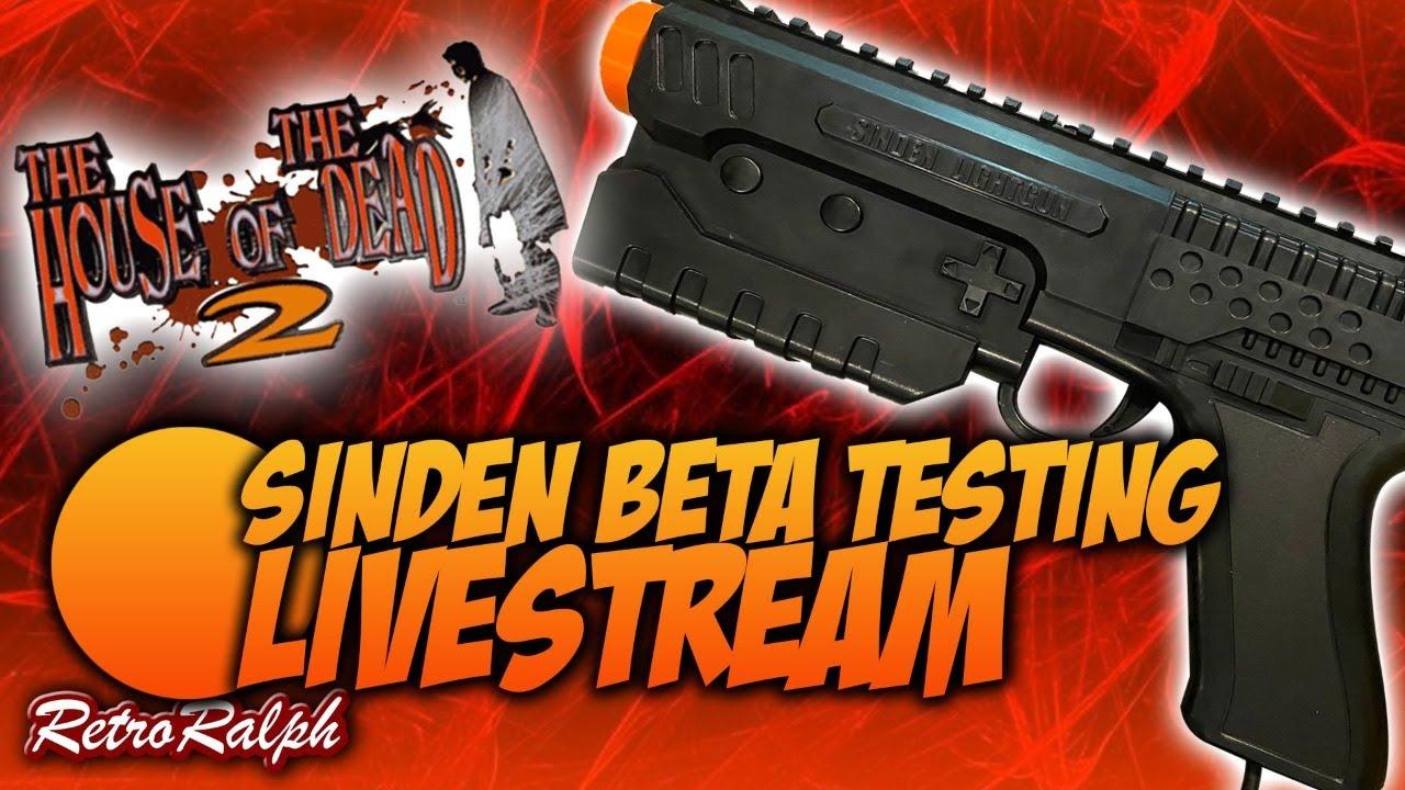 Sinden Lightgun Beta Testing - House Of The Dead 2