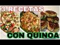 QUINOA 3 RECETAS FÁCILES   LUNES SIN CARNE   By VISAN
