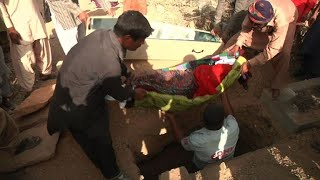 Body of raped and murdered Pakistan girl buried