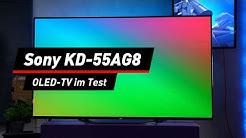 Smart-TV Sony KD-55AG8 im Test: OLED für Einsteiger? | deutsch