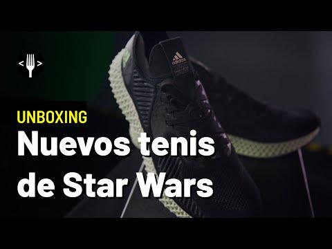 Unboxing: Los tenis runners oficiales de Star Wars.
